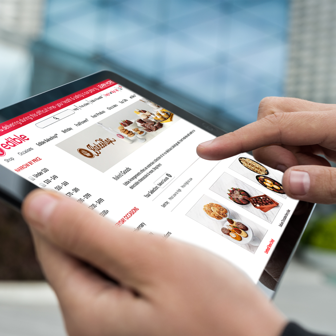 Edible Arrangements Tablet