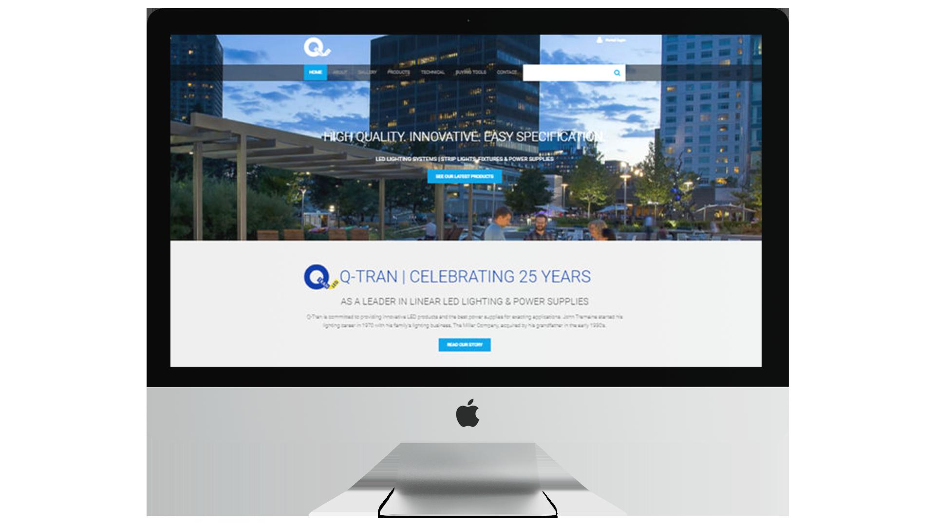Q-Tran Homepage